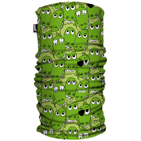 HAD Printed Fleece  Neckwear Children green